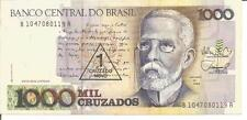 BRAZIL 1 CRUZADO NOVO ON 1.000 CRUZADOS N/D (1989)