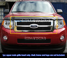 For 2008-2012 Ford Escape Black Billet Grille Grill Insert