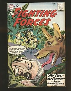 Our Fighting Forces # 50 VG+ Cond.