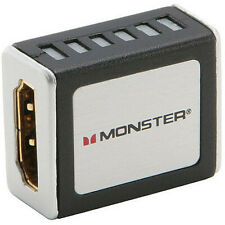Brand New Monster cable HDMI Coupler HDMI to HDMI extender Connector 24k Gold