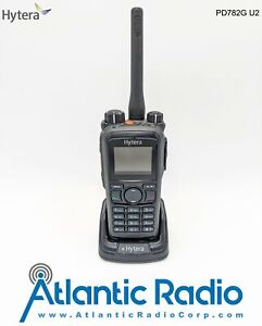 Hytera PD782i-G-U2 DMR Analog 4W Portable UHF (450-520) 25KHz 1 Year Warranty