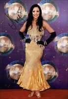 AMY DOWDEN AUTOGRAPH *STRICTLY COME DANCING* HAND SIGNED 12X8 PHOTO