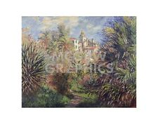"MONET CLAUDE - GARDENS AT BORDIGHERA, 1884 - ART PRINT POSTER 11""X14"" (1694)"