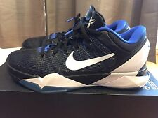 2012 Mens Nike Zoom Kobe VII 7 Duke Shark Treasure Blue Black Size 9 Used Rare