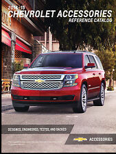 2014 2015 Chevrolet 200-page Car Accessories Brochure Catalog - Truck SS Camaro