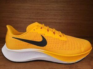 New Mens Nike Air Zoom Pegasus 37 TB Yellow Gold Black Shoe CJ0677 700 Size 12