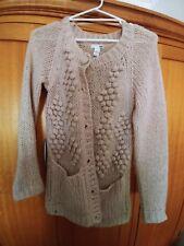 Women's winter knit cardigan. Size 8-10