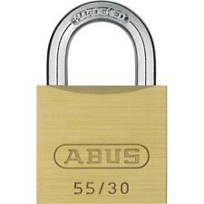 Abus 55 by 30 C Kd Solid Brass Keyed Different Carded Padlock