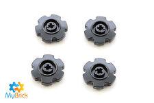 Lego Technic Black Tread Sprocket Wheel Small  4x Pack LEGO® Part 57520