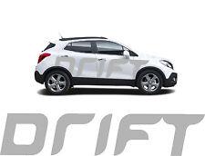 """2x """"Drift 2"""" Autoaufkleber Car Tuning Schriftzug 2,38m  Farbe nach Wunsch"""