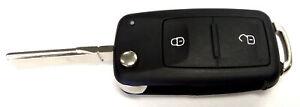 MAP Car Remote Shell (2 Button) fits VW KF122 fits Volkswagen Amarok 2.0 BiTD...