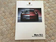 PORSCHE 911 996 C4S TARGA PRESTIGE ROAD DRIVES BROCHURE USA EDITION 2002