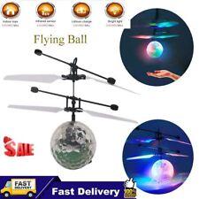 Fliegender LED Ball Helicopter Hubschrauber RC Induktion Sensor Kinder Spielzeug