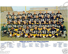 RARE 1962 GREEN BAY PACKERS NFL CHAMPIONS RARE 8X10 TEAM PHOTO #4