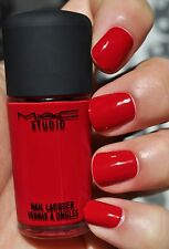 MAC Nail Lacquer ** RED RED RED ** BNIB ~ 100% AUTHENTIC ~ VERY HARD TO FIND!!