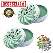 2 x TATTOO GOO AFTERCARE TIN SALVE - LARGE 21G - HEALING AND PROTECTION