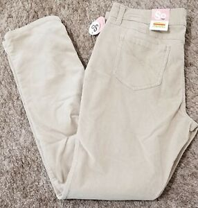 Kohls So Juniors Size 15 Beige corduroy stretch pants~ New with tags~