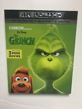 How the Grinch Stole Christmas (4K Uhd Blu-ray, Blu-ray, 2019) New w/slipcover