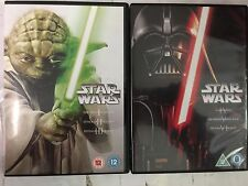 Star Wars, Prequel and Trilogy, Episodes I, II, III, IV, V, VI, Reg. 2 DVD Sets