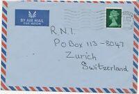 "GB ""DEREHAM / NORFOLK"" very rare transposed machine postmark superb airmailcover"