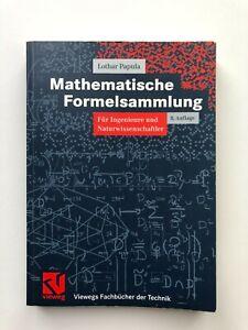 Lothar Papula - Mathematische Formelsammlung - 8. Auflage (2003)