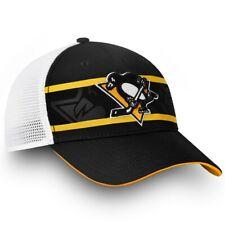 Pittsburgh Penguins NHL Fanatics Adjustable Snapback Hat Trucker Style