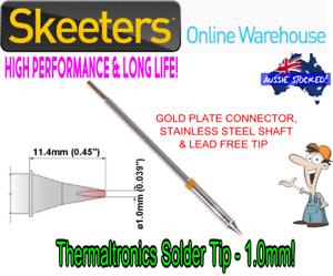 Thermaltronics Solder Tip - 1.0mm