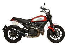 PER Ducati Scrambler 800 Icon 2016 16 MARMITTA TERMINALE DI SCARICO LEOVINCE IN