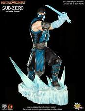 Mortal Kombat Sub-Zero estatua Ice Sword 1/4 - 43 cm Pop Culture Shock personaje