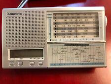 Sehr gut erhaltener Weltempfänger Radio Grundig Yacht Boy 218