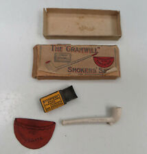 More details for the gramwill miniature/dolls smoking set - with compliments - be moderate