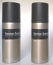 Bruno Banani Deo Spray Deodorant Man 2 x 150 ml  (EUR 4,30/100 ml)
