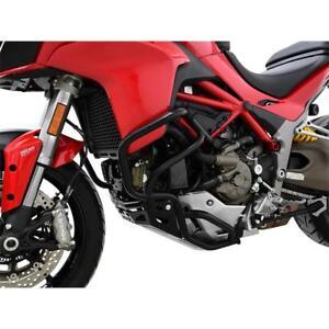 Ducati Multistrada 1200 Yr 15-17 Crash BAR Fall Protection Black Ibex