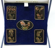 More details for atlanta olympics 1996 100 year anniversary boxed set pin badges