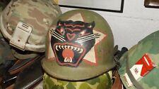New listing Vietnam War Arvn Ranger M-1 Helmet With Liner
