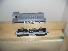 HO SCALE PROTO POWER WEST POWERED CHASSIS WITH CARY S-4 DIE-CAST DIESEL BODY AND