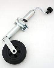 Winterhoff Stützrad mit Halter 48 mm Rohr mit Stützlager leichtes kurbeln L4101