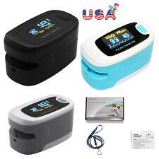 Fingertip Pulse Oximeter Blood Oxygen Saturation Monitor Spo2 Pr Heart Rate Fda