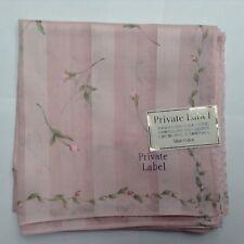 """Neuf avec étiquettes étiquette privée """"Floral"""" Coton Mouchoir"""