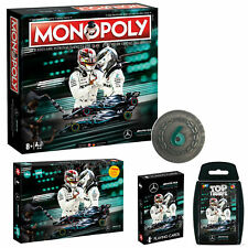 Mercedes Game Bundle: Monopoly + Coin + Playing Cards + Top Trumps + Puzzle