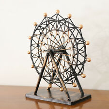 Iron Art Crafts Ferris Wheel Model Home Ornament Christmas Gift Collectibles