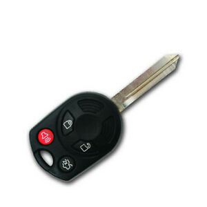 OEM NEW 2006-2011 Ford Fusion 4-Button Chip Key + Fob