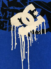 DC Shoe Co. Men's T-Shirt Size S - SMALL - BLUE