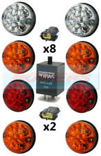 LAND ROVER DEFENDER 90 110 130 73MM LED LAMP/LIGHT UPGRADE KIT RDX WIPAC DA1192