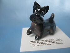Hagen Renaker Dog Scottish Terrier Figurine Miniature0856 Porcelain Ceramic NEW