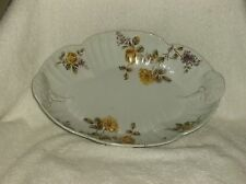 VINTAGE COLLECTIBLE CHINA SERVING PLATTER LS&S CARLSBAD Made in Austria