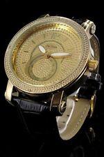 orologio bracciale pelle Jay Baxter color oro -lux strasse-omaggio dizionario