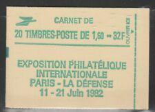 FRANCE carnet DELACROIX 2219c1a numéroté neuf**
