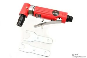 """1/4"""" HIGH SPEED 90 DEGREE RIGHT ANGLE ANGLED HEAD MINI AIR POWER DIE GRINDER"""