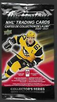 2020-21 Unopened Pack Of 3 UD Tim Hortons Hockey Cards Sealed *Maybe Chase Cards